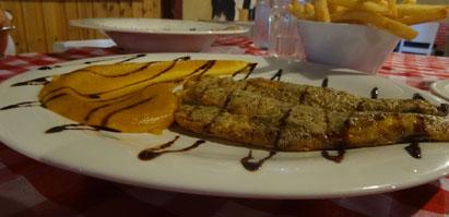 מנת לברק במסעדת דג דגן 10il אוכל