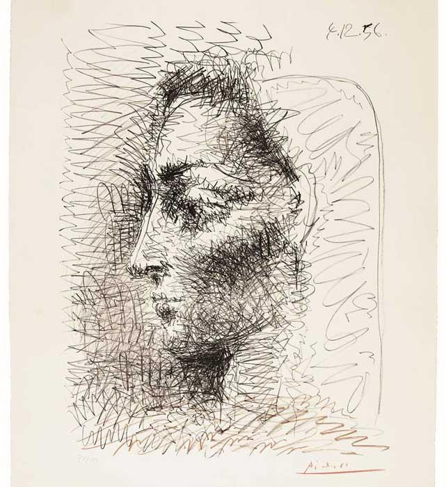Picasso-Portrait-israel- altman gallery ,lifestyle-magazin רות ברונשטיין : מבקרת אמנות