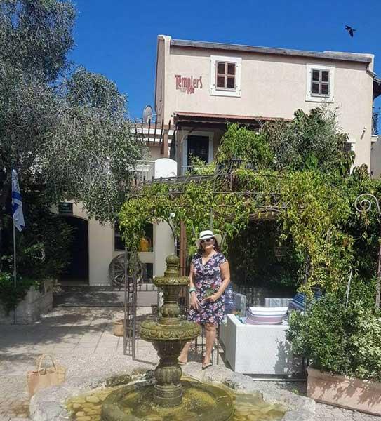 מלון בוטיק טמפלרס חיפה, 106il רות ברונשטיין ההמלצה שלי