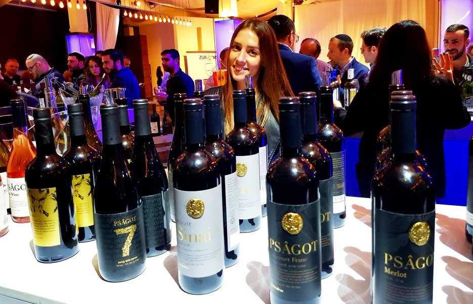 צור עולם היין - תערוכת היינות הכשרים