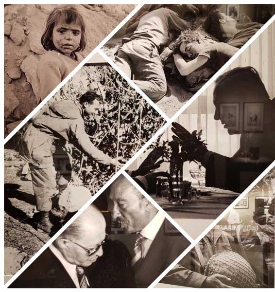 תערוכת צילומים דוד רובינגר, מאת: רות ברונשטיין