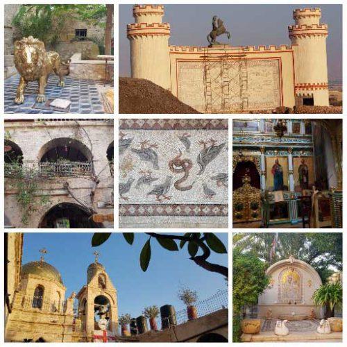 מנזר דיר חג'לה, צפון ים המלח. המצה של רות לתיירות ופנאי