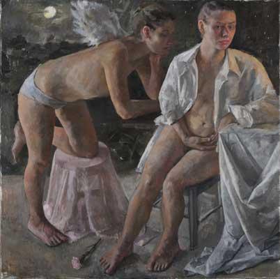 Israeli Artist Roni Taharlev רוני טהרלב מציגה במוזיאון הלובר פאריז