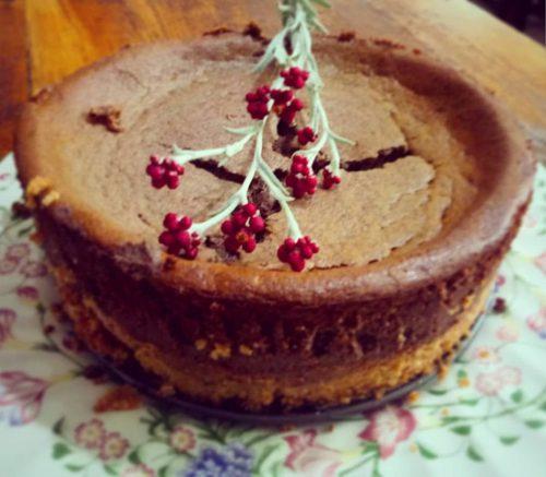 עוגת הגבינה של אסתר צ.אבי דולב באדיבות ארץ כרמי זית