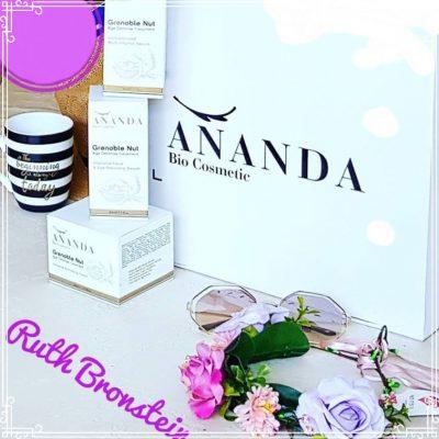 מותג הקוסמטיקה הישראלי Ananda Bio Cosmetic