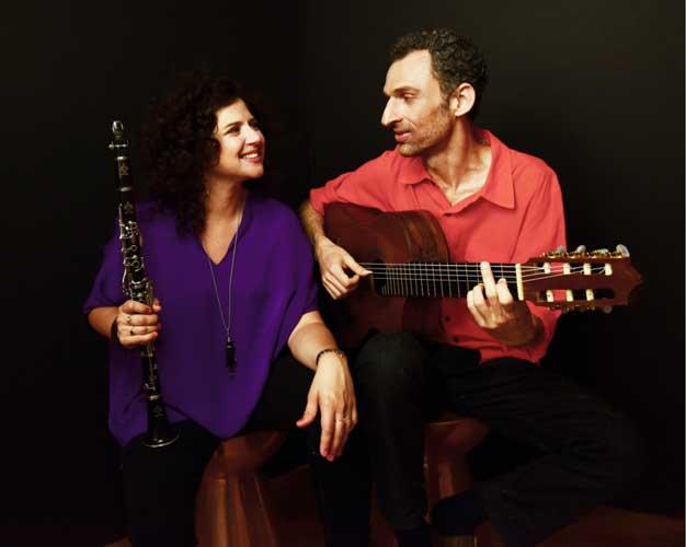 הופעה ברזילאית, המלצה של רות, ענת כהן ומרסלו גונסאלווס Marcello Gonçalves