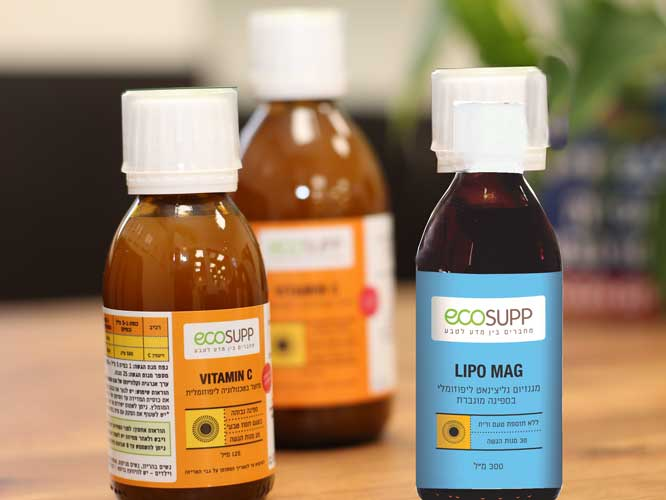 ecosupp סדרת תוספי מזון לאיכות חיים